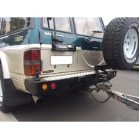 MCC 022-02 Rear Bar with Dual Wheel Carriers for Safari / Patrol GQ Y60