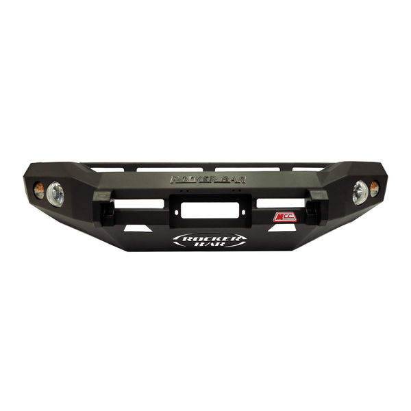 MCC Rocker 078-01 No Loop Winch Bar for Toyota Landcruiser 80 Series