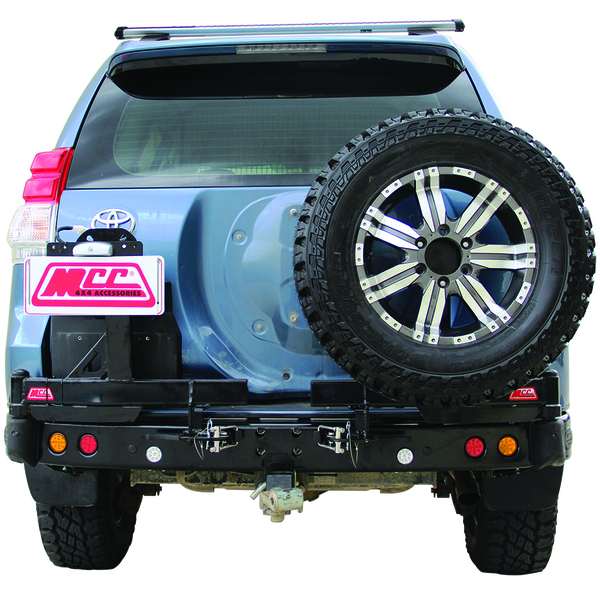 MCC 022-02 Rear Bar with Dual Wheel Carriers for Landcruiser 100 Series