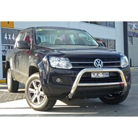 MCC 009 Low Nudge Bar for VW Amarok 2011-on NBUNIPOLISHED