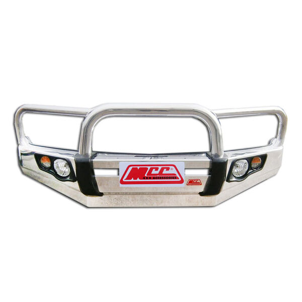 MCC Falcon 707-01AL Triple Loop Aluminum Winch Bar for Ford Everest + Ranger PX2 2015-on