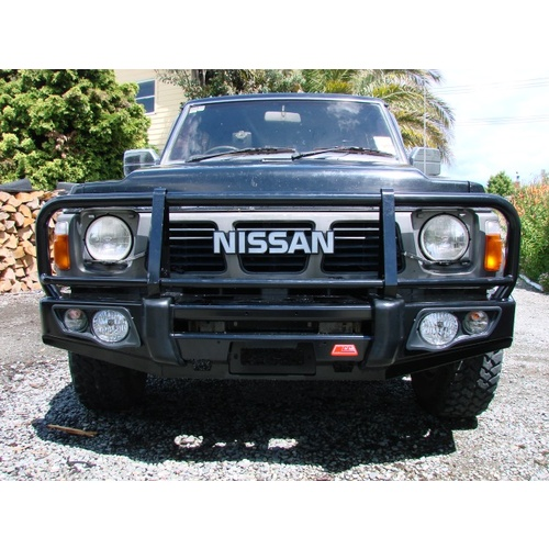 MCC Falcon 707-02 Winch Bar for Nissan Safari / Patrol GQ Y60